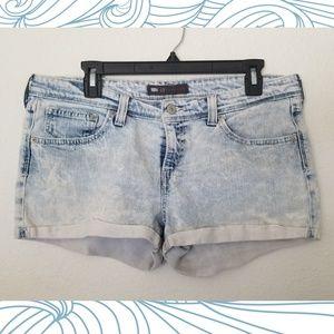 Levi's Shorts Rhinestone Embellished